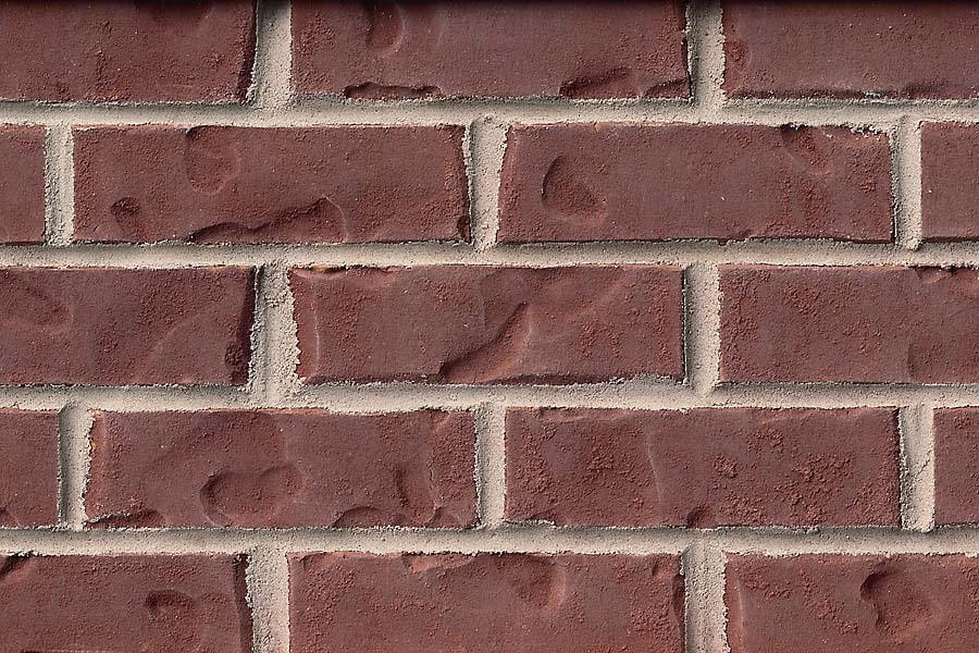 Red Colonial brick sample